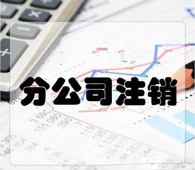深圳分公司注销流程及费用